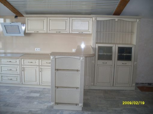 обычная уютная кухня