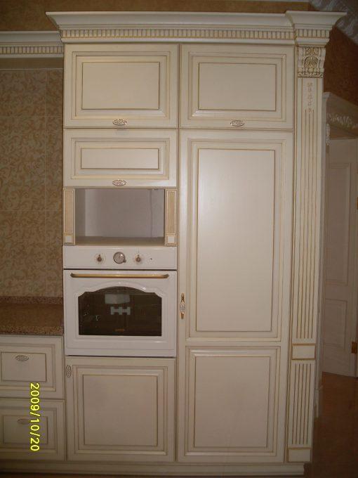 кухня бежевая классик